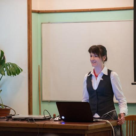 Elena Beketova joins the lab