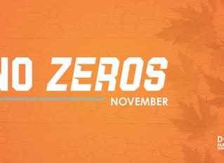 No Zeros November