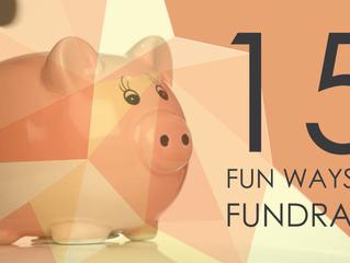 15 Fun Ways to Fundraise