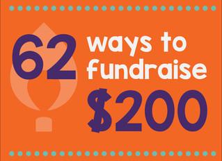 62 Ways to Raise $200
