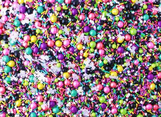 Sprinkle Pop-Dark Unicorn Sprinkle Mix