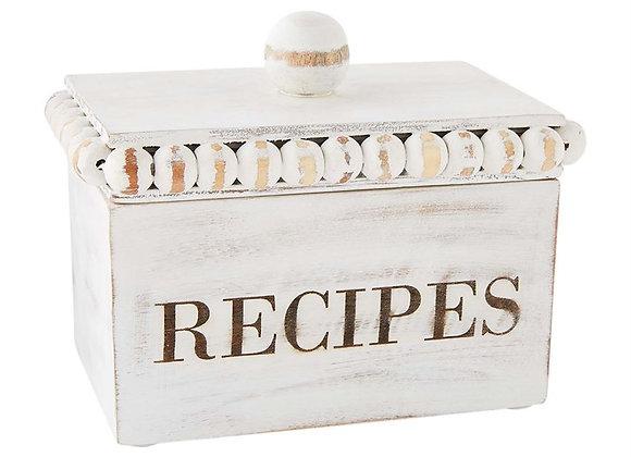Mud Pie: Beaded Recipe Box Set