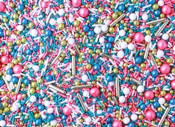Sprinkle Pop-Dessert Rose Sprinkle Mix