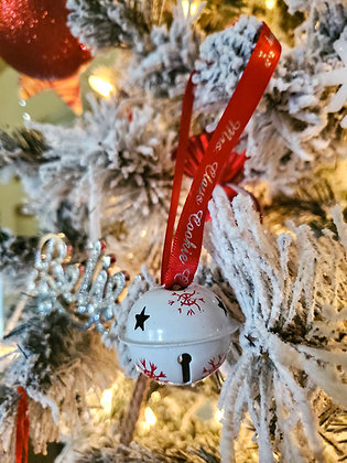 Mrs. Claus Cookie Company Jingle Bell Ornament