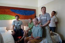 Jiang assage Andrew and Master Jiang Shenzhen 2009