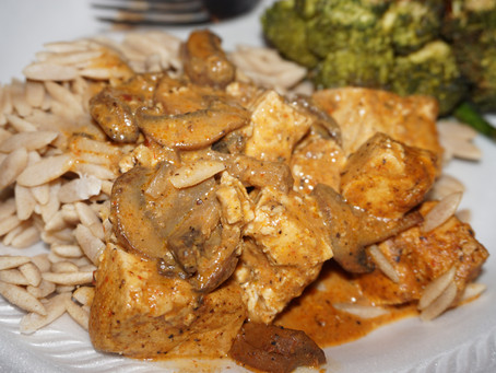 Indonesian Peanut Sauce with Organic Tofu