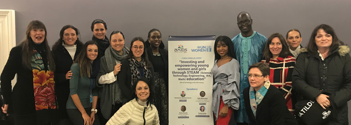 CSW62 - UN Women Conference on Empowering the Rural Woman through STEAM