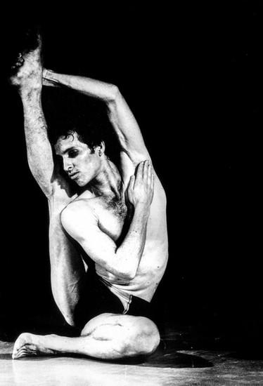 """מתוך """"דוד"""", 1977, המחול הראשון של ירון מרגולין. בכורה ציריך, שווייץ"""