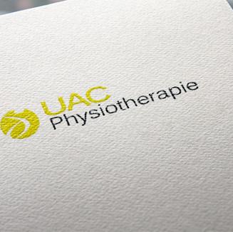 Logodesign für die Physiotherapie UAC