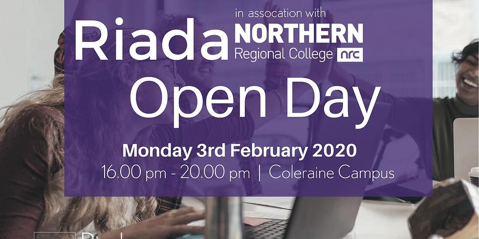 NRC Coleraine Open Day