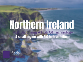 Northern Ireland Fast Becoming A Hub Of Technology...