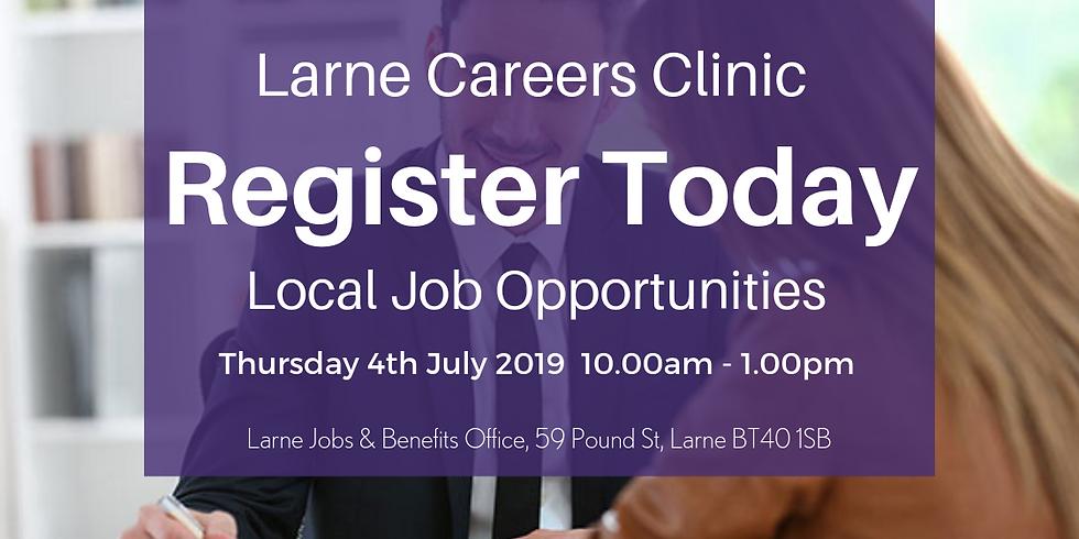 Larne Careers Clinic