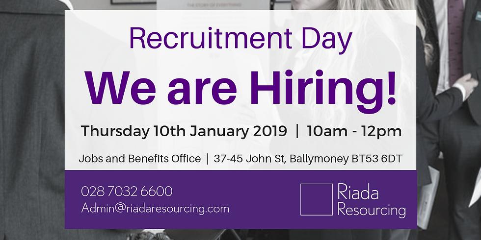 Ballymoney Jobs and Benefits Recruitment Day