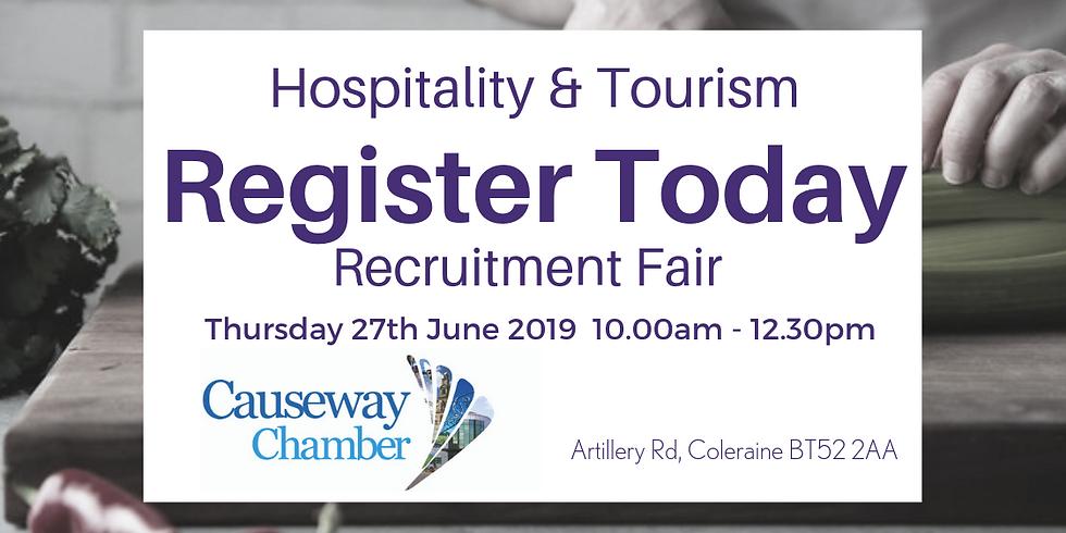 Hospitality and Tourism Recruitment Fair