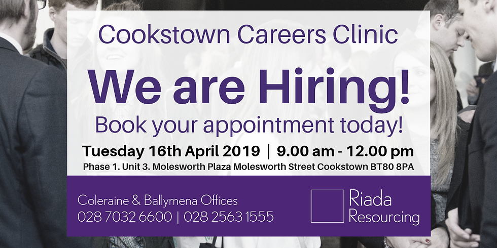 Cookstown Careers Clinic