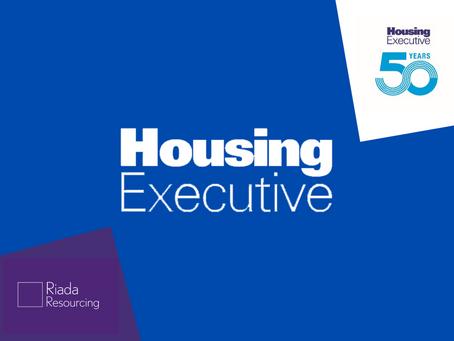 Riada Recruits for Northern Ireland Housing Executive...