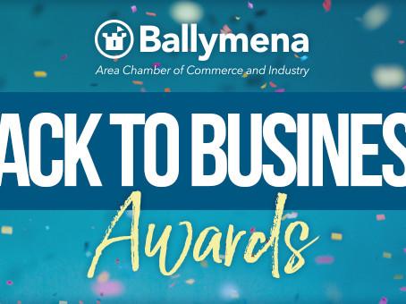 Riada Sponsor Customer Service Award At Upcoming Ballymena 'Back to Business' Awards 2021