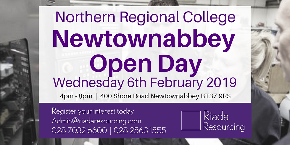 Northern Regional College Open Day