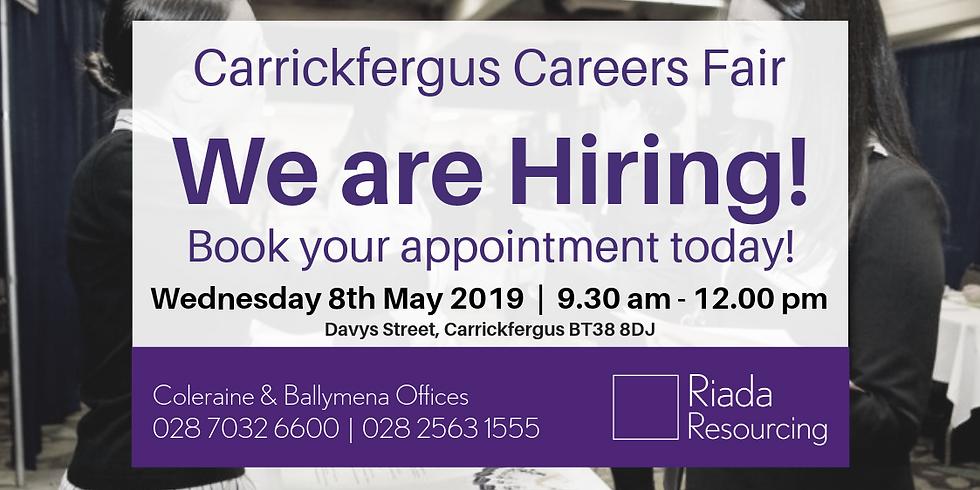 Carrickfergus Careers Fair