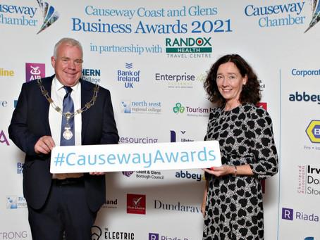 Riada Sponsors 9th causeway business awards