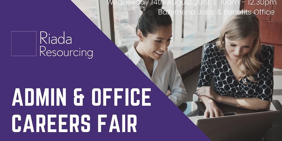 Admin & Office Careers Fair