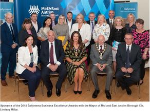2018 Ballymena Business Awards Launch