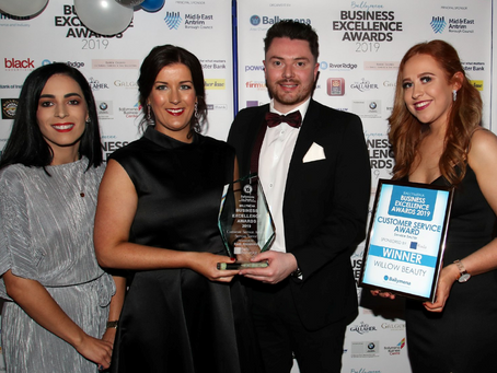 Riada Sponsor Customer Service Award At Ballymena Business Excellence Awards 2019
