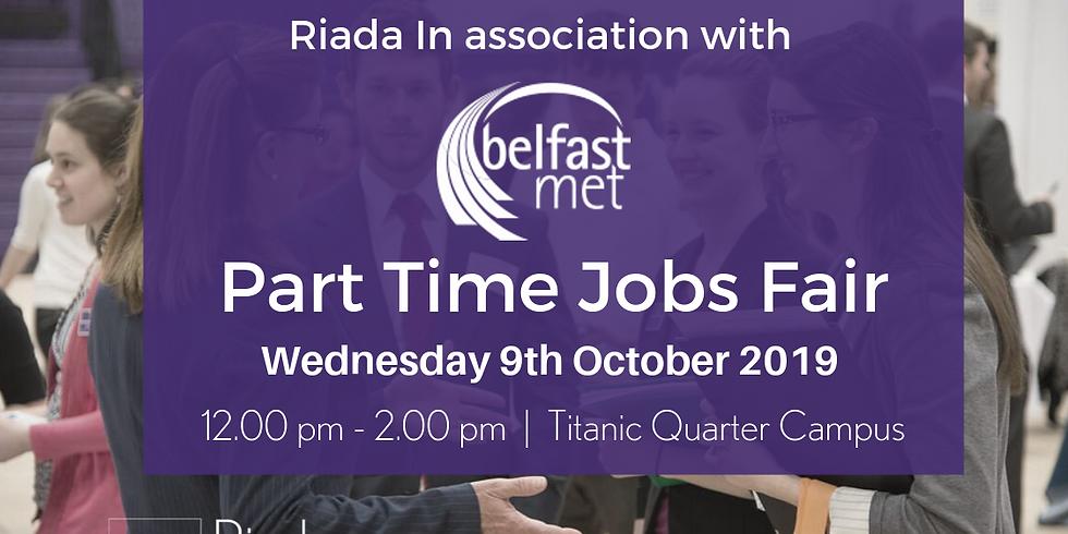 Belfast Part Time Jobs Fair