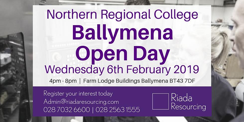 Northern Regional College Open Day