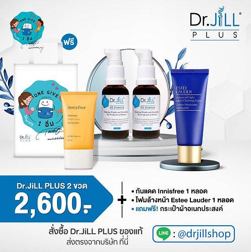 Dr.JiLL 2 ขวด +ครีมกันแดด+โฟม Estee