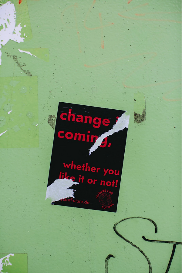 Startup Family Office   Change is coming   Photo by Markus Spiske on Unsplash