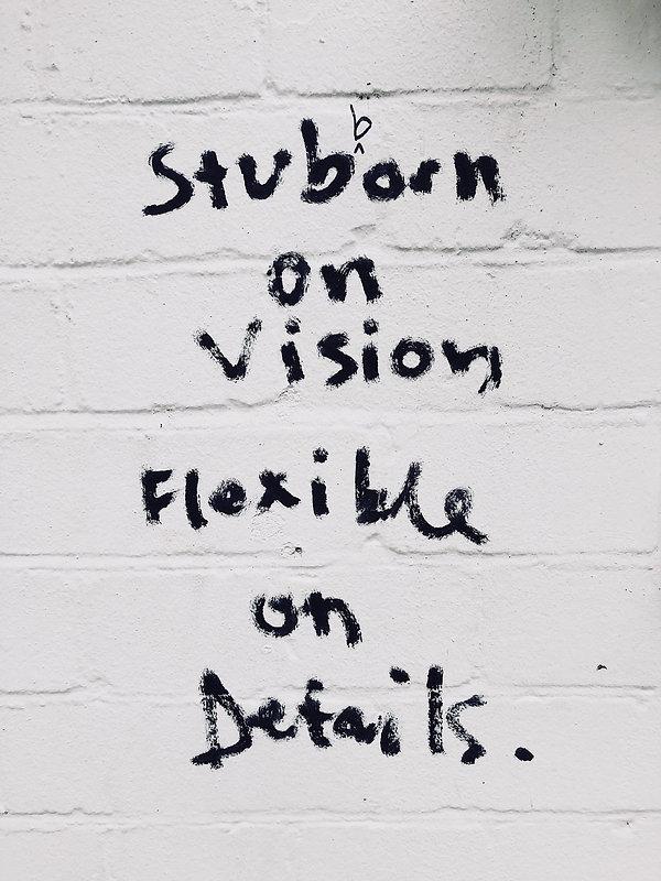 Startup Family Office   Stubborn on Vision    Photo by Daria Shevtsova
