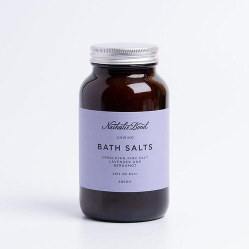 Nathalie Bond Bath Salts - Unwind 250ml