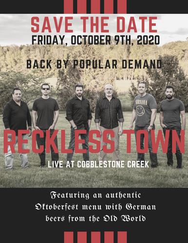 Cobblestone Creek Reckless Town Event.pn