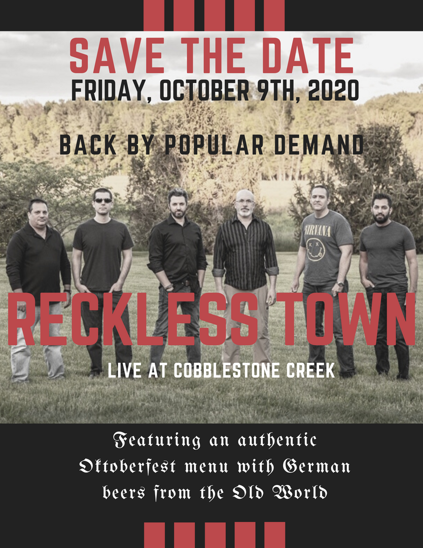 Cobblestone Creek Reckless Town Event.pn