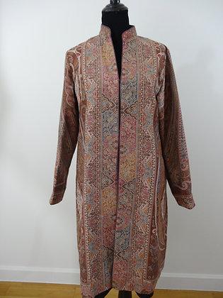 Kani Weave Jamawar Design Jacket