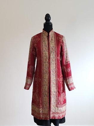 Kani Weave Jacket with Paisley Border