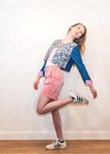 Livalya - Crop Embroidered Denim Jacket with Pink Shorts - PT.jpg