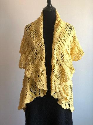 Crocheted Shrug/Cardigan