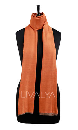 Two-Toned Reversible Fine Wool Scarf