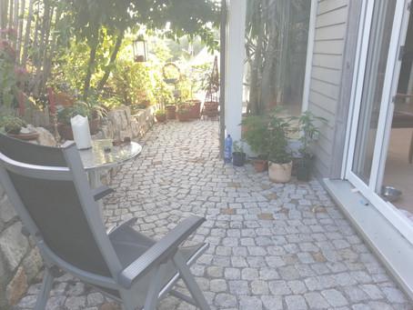 Pflaster für die Terrasse