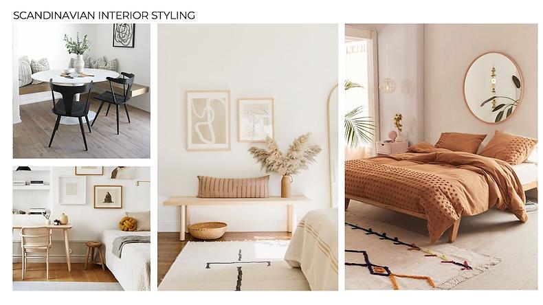 Scandinavian interior styling