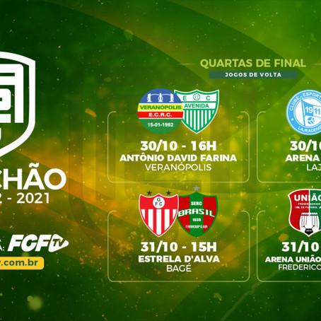 Federação confirma datas dos jogos de volta da Divisão de Acesso