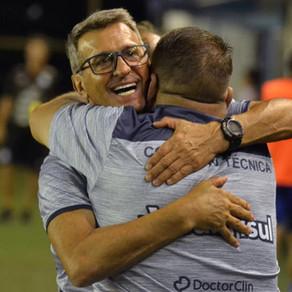 Treinador destaca alívio após primeira vitória do São José