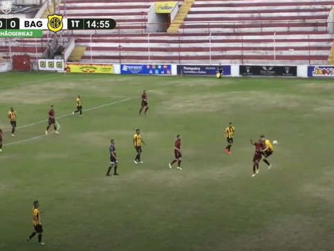TJD: Bagé pode perder atacante por mais de 10 jogos