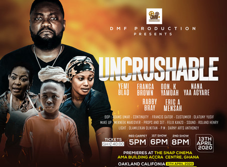 'Uncrushable' Movie Premieres Postponed in the United States of America.........