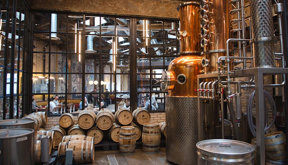 Craft Distillirey Concept