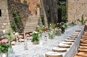 Turn the Castle structure to a wedding destination