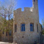 Front elevation - large turret