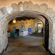 Archway to the grand room
